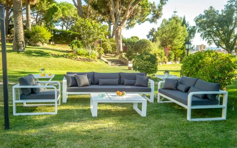 sofás para jardín